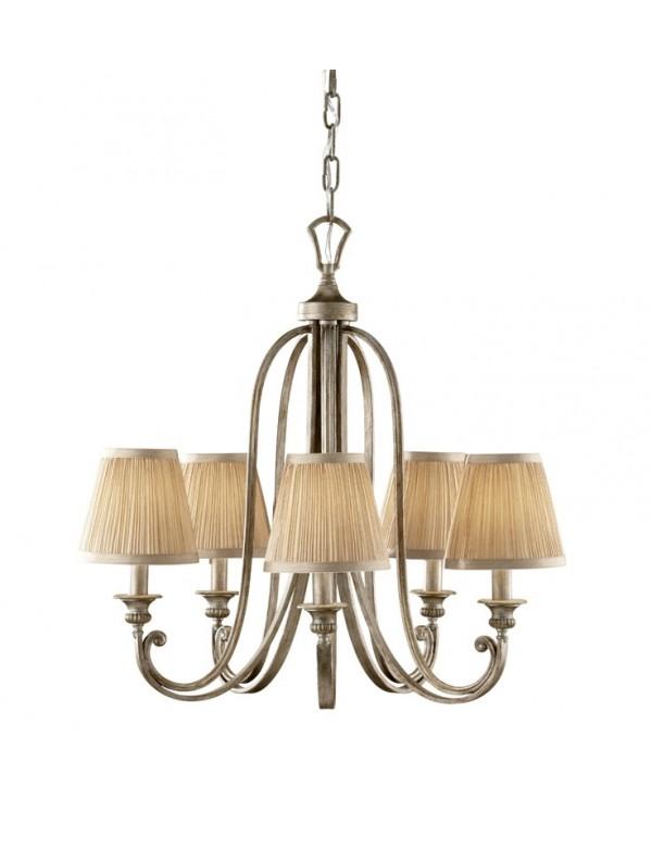 Urokliwa lampa wisząca Abbey 5 - Feiss