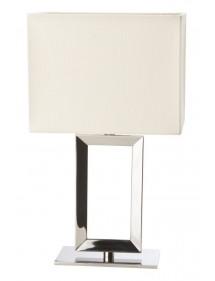Unikatowa lampa stołowa PAD S z kremowym abażurem - Sompex