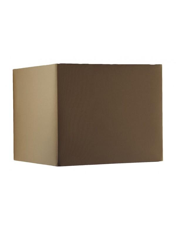 Kwadratowy abażur w brązowym kolorze LS1015 - Lui's Collection