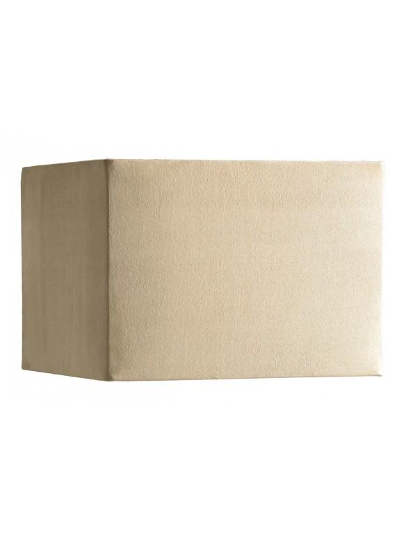 Piaskowy abażur w kształcie kwadratu LS1016 - Lui's Collection