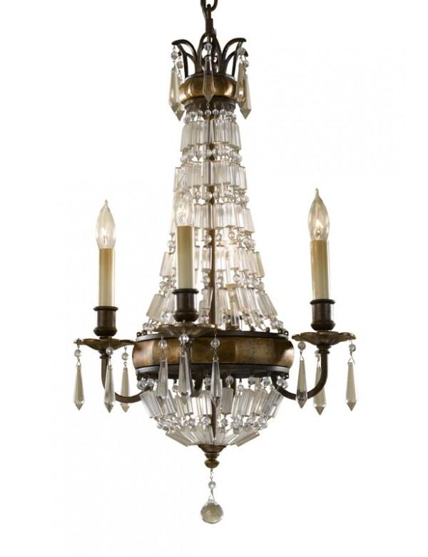 Klasyczna lampa wisząca Bellini 4 - Feiss