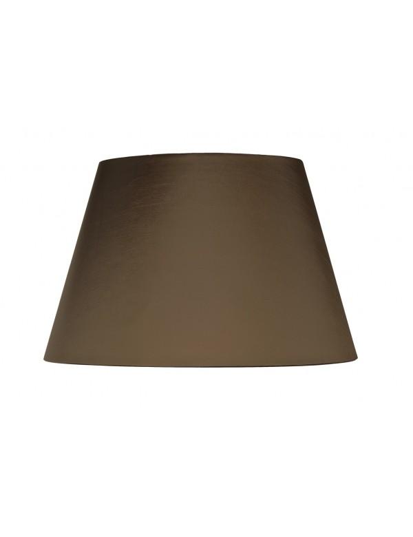 Duży stożkowaty abażur brązowy LS1020 - Lui's Collection