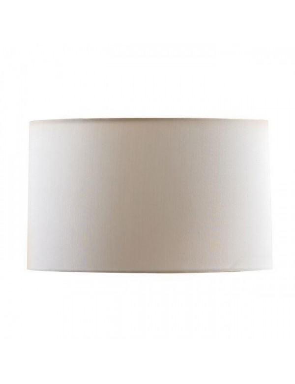 Biały abażur w kształcie cylindra LS1027 - Lui's Collection