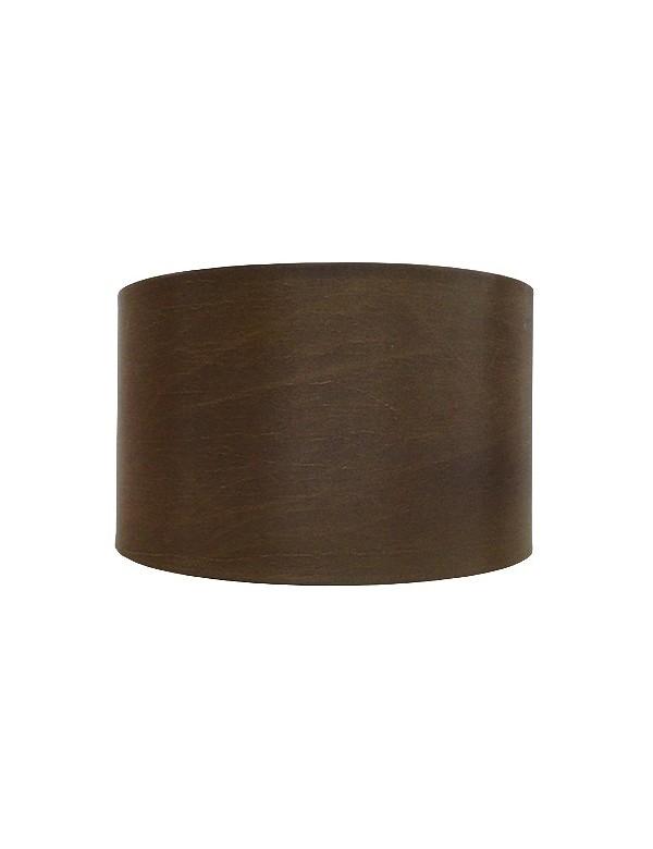 Brązowy abażur o kształcie cylindra o średnicy 34 cm LS1031- Lui's Collection