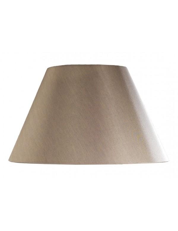 LS1034 brązowy abażur o kształcie stożka - Lui's Collection