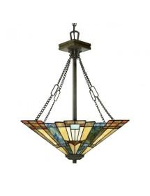 INGLENOOK LW3 wisząca lampa na czterech łańcuchach - Quoizel