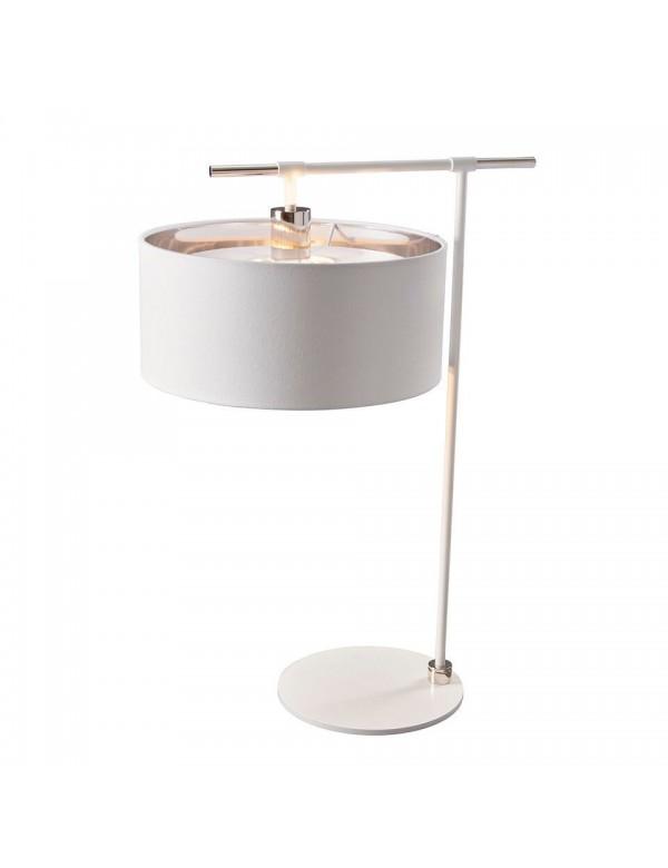 Lampa stołowa BALANCE/TL brązowa i biała wersja kolorystyczna - Elstead Lighting
