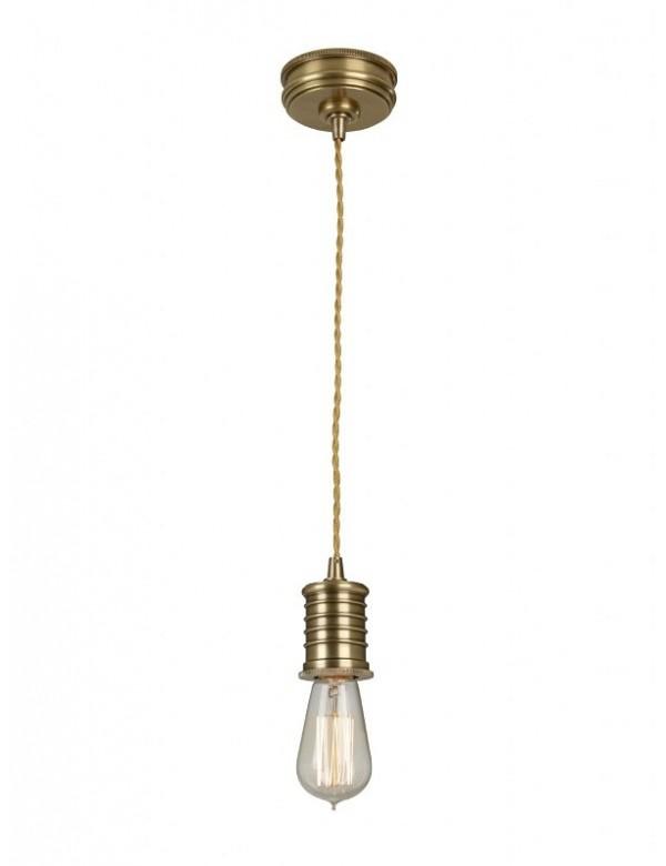 Zawieszka sufitowa DOUILLE/P styl industrialny - Elstead Lighting