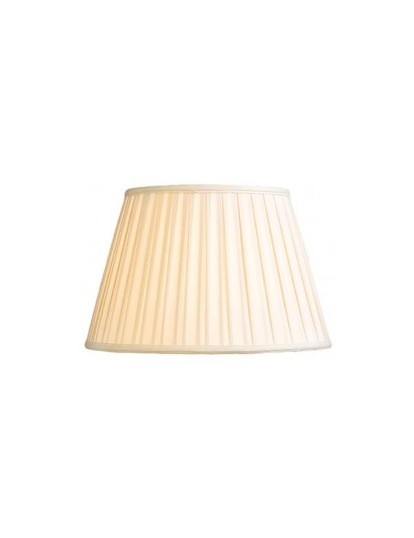 Duży abażur ostrygowy z tkaniny bawełnianej LS1062 - Lui's Collection