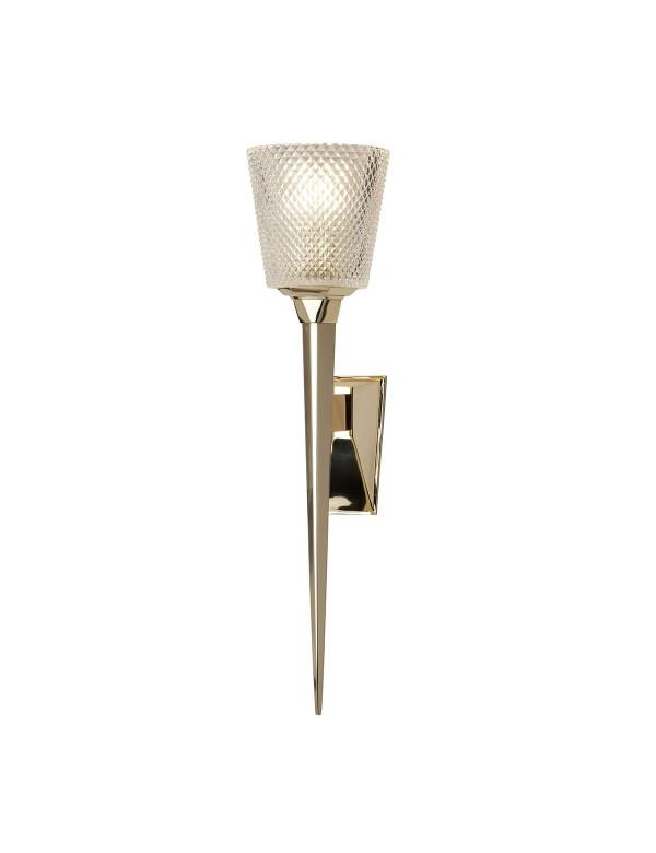 BATH/VERITY kinkiet łazienkowy - wzór pochodni - Elstead Lighting
