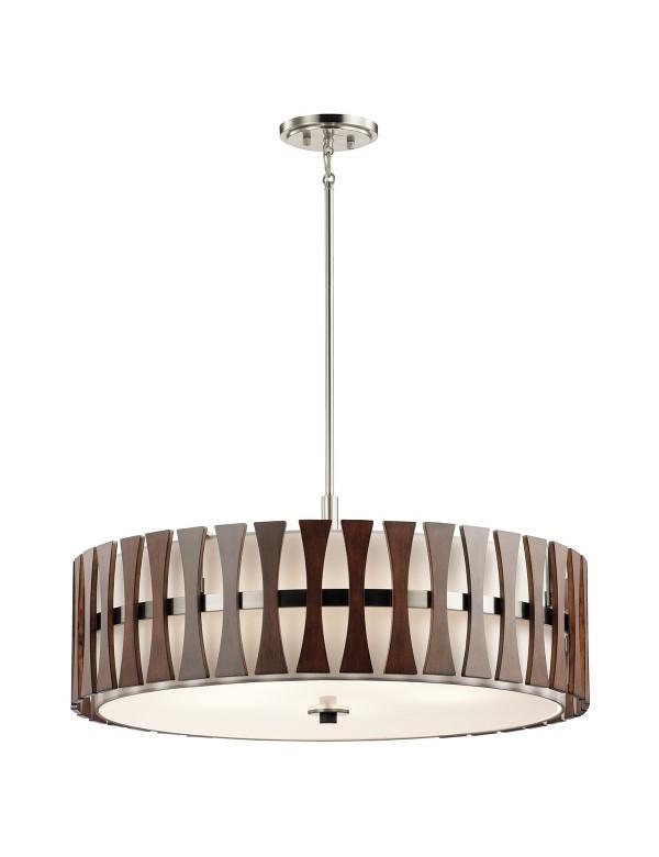KL/CIRUS/5P lampa do salonu w kolorze kasztanowym - Kichler