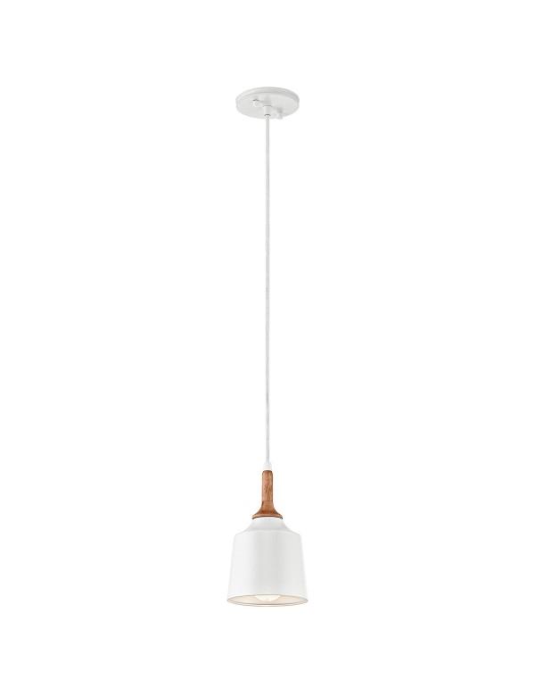 KL/DANIKA/MP mini lampa wisząca z białym kloszem - Kichler