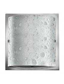 HK/DAPHNE1 BATH kinkiet łazienkowy z efektem kropel na kloszu - Hinkley