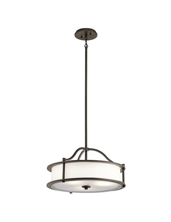 KL/EMORY/P/S okrągła lampa wisząca lub opcjonalnie plafon - Kichler