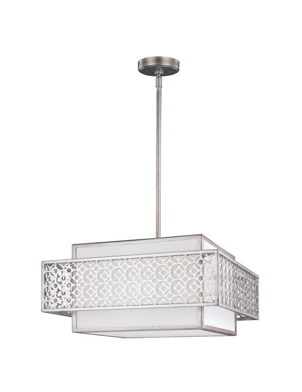 FE/KENNEY/3P kwadratowa lampa wisząca - Feiss