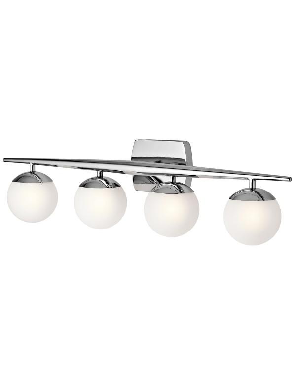 KL/JASPER4 BATH szeroka lampa ścienna łazienkowa - Kichler