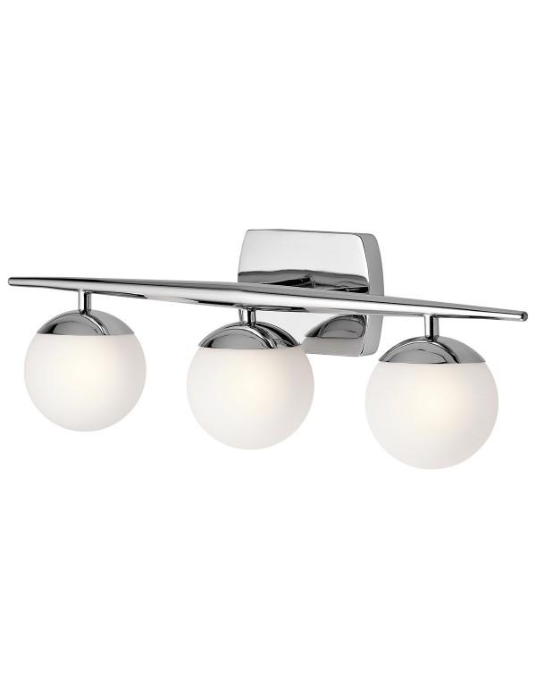 KL/JASPER3 BATH potrójna lampa ścienna do łazienki - Kichler