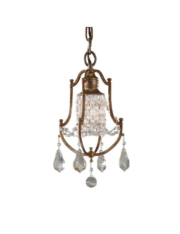 FE/VALENTINA/MP mała wisząca lampa kryształowa - Feiss