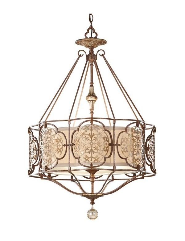 Luksusowy żyrandol klasyczny Marcella II - Feiss