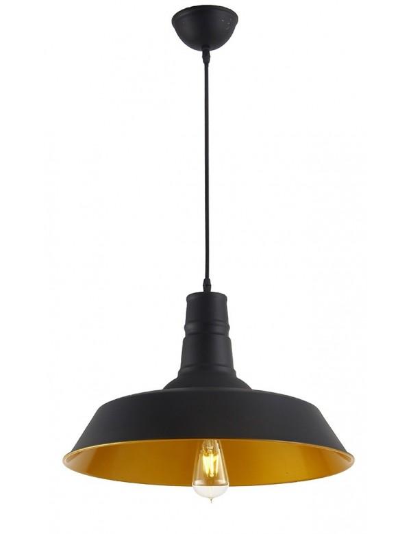 Lampa wisząca ALEXIS nowoczesny look ze złotym wnętrzem - Azzardo