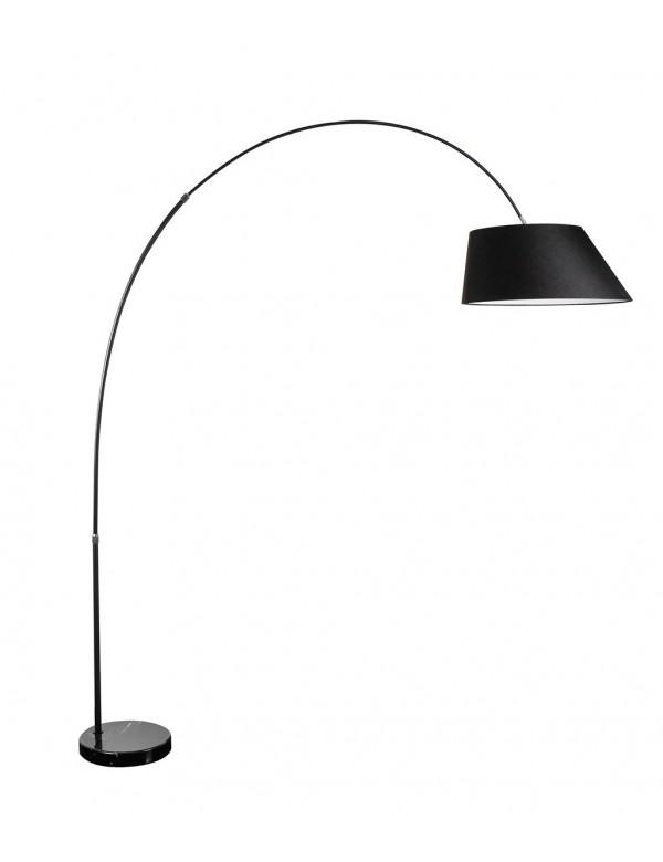 BARD lampa podłogowa, trapezowy klosz na długim pałąku - Azzardo
