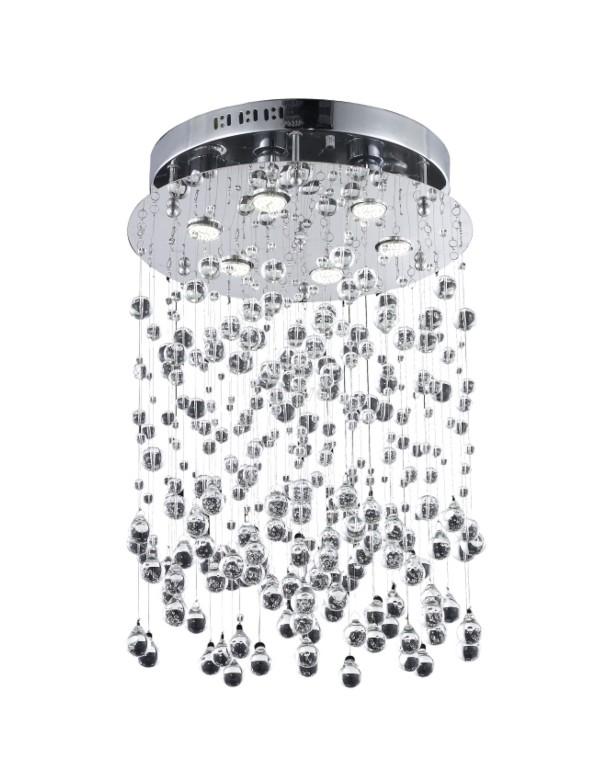 COMET lampa sufitowa ze zwisającymi szklanymi bąbelkami - Azzardo