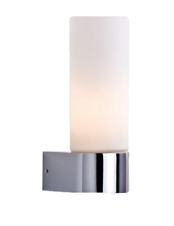 GAIA 1 kinkiet do łazienki z kloszem ze szkła opalowego - Azzardo