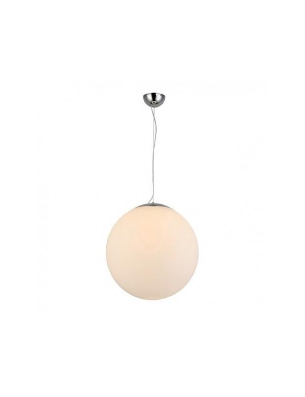 WHITE BALL 30 biała wisząca kula o średnicy 30cm Azzardo