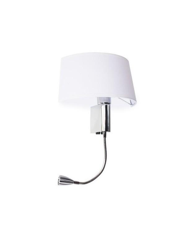 AMADEO LED OVAL - owalny kinkiet z dodatkową lampką led - Azzardo