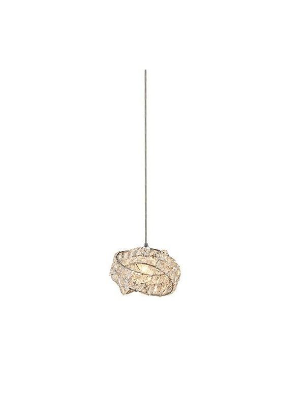 BARI 1 mała kryształowa lampa wisząca - Azzardo