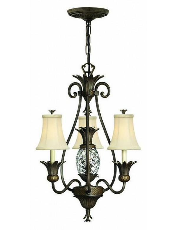 Szykowna lampa wisząca Plantation 4883 PZ - Hinkley