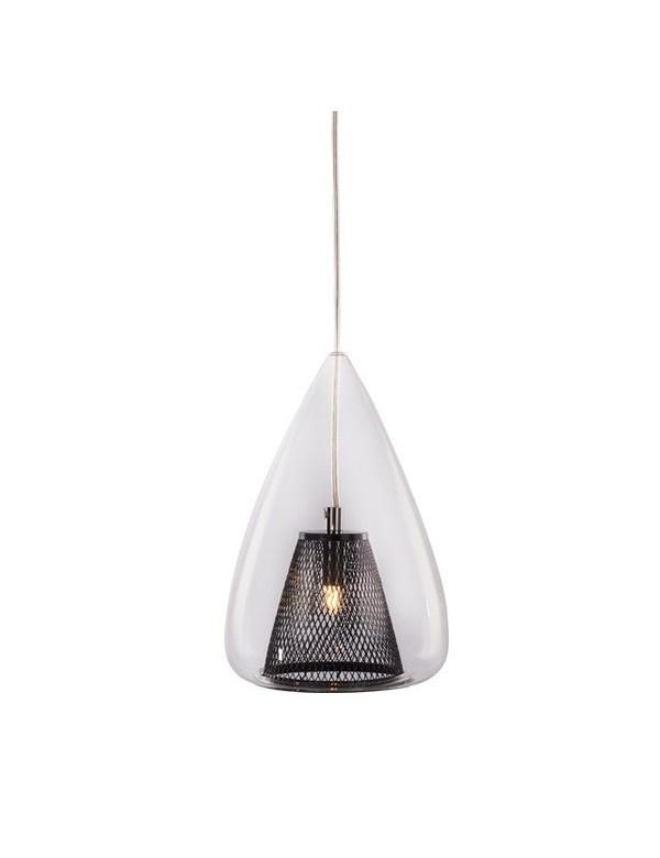 GORDON lampa wisząca ze szklanym kloszem zewnętrznym - Azzardo