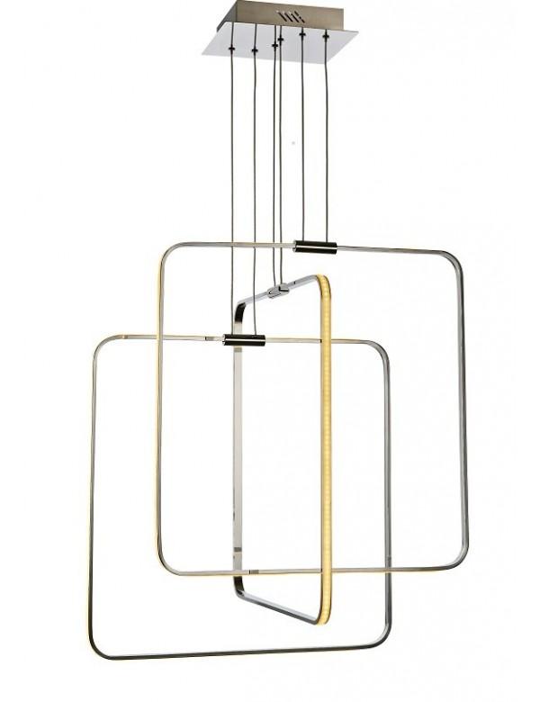 Luksusowa lampa wisząca MADRID z modułem led w konstrukcji - Azzardo