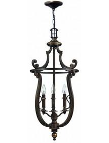 Tradycyjna wisząca lampa Plymouth 4254 - Hinkley