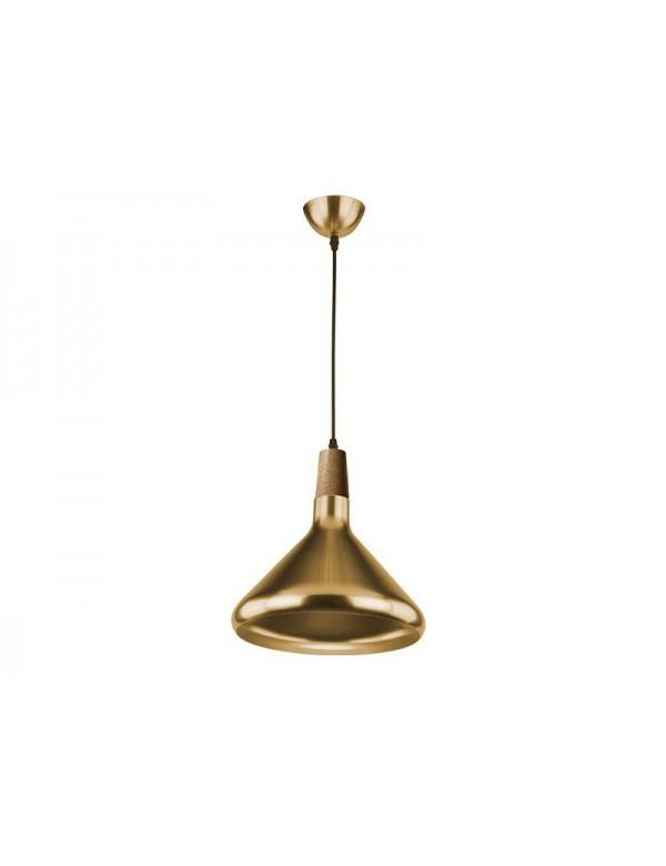 IDA M prosta lampa wisząca z metalowym kloszem - Azzardo