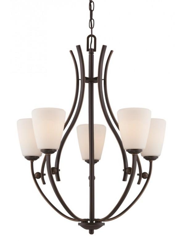 Cudowny żyrandol Chantilly 5005 - Quoizel