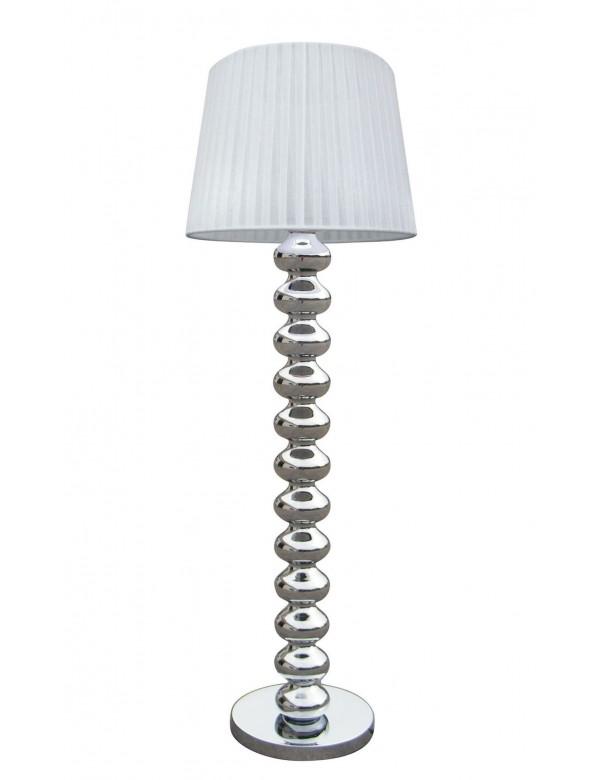 DECO LP podłogowa lampa z chromowaną ozdobną podstawą - Zuma Line