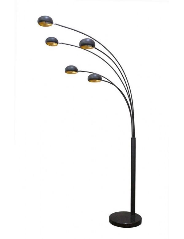 BRANCA okazała lampa podłogowa z pięcioma ramionami - Zuma Line