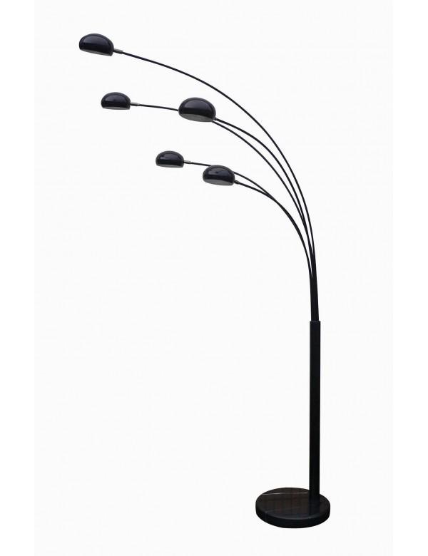 ZODIAC elegancka pięcioramienna lampa podłogowa do salonu - Zuma Line