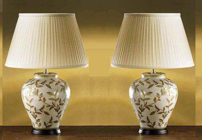 ceramiczne lampy stołowe