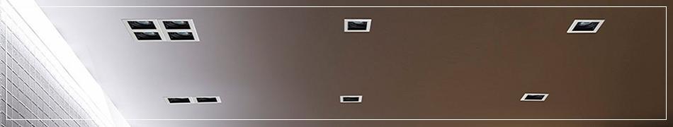 Oprawy wpustowe umożliwiają stworzenie różnych aranżacji oświetleniowych
