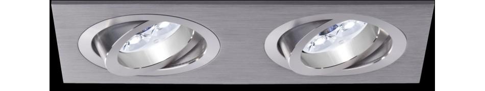 Sufitowe oprawy wpustowe - lampy wpustowe do wnętrz