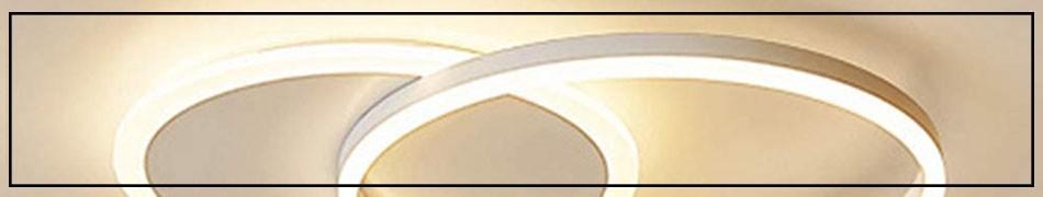 Nowoczesne plafony eleganckie lampy sufitowe do pokoju, salonu, kuchni