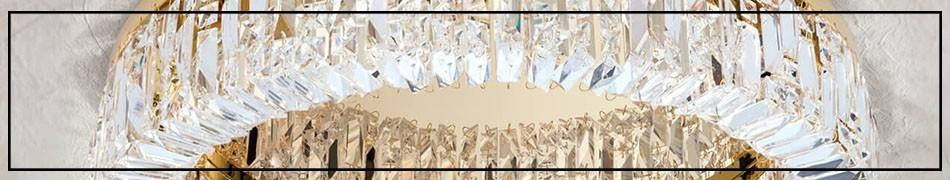 Kryształowe plafony, piękne, stylowe kryształowe lampy sufitowe
