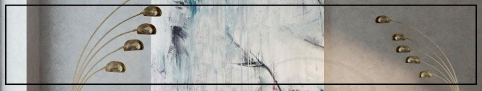 Lampy podłogowe kilkuramienne, duże stojące lampy z kilkoma ramionami