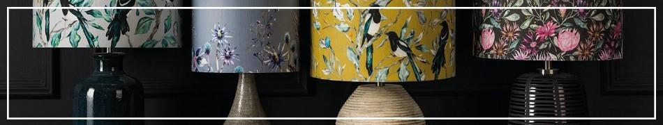 Ceramiczne lampy stołowe - klasyczne lampy na komodę lub stolik nocny