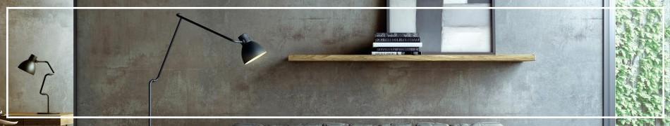 Lampy podłogowe z łamaną konstrukcją, regulowane kilkoma przegubami