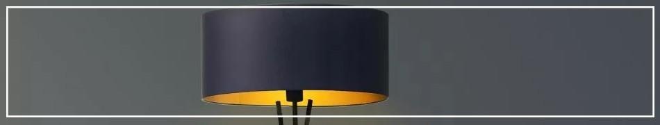 Lampy podłogowe na trójnożnym statywie, lampy stojące na trójnogu