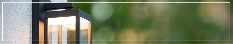 Kinkiety ogrodowe – ciekawe wzory zewnętrznych lamp ściennych