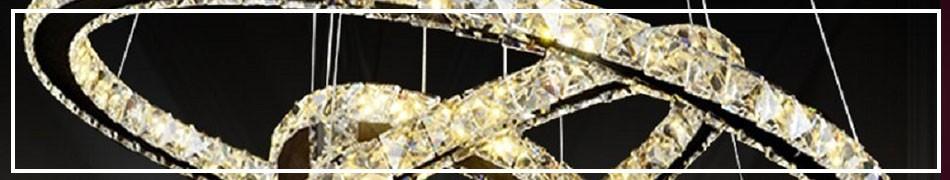 Kryształowe lampy wiszące